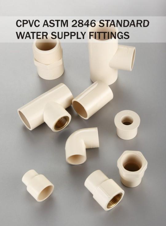 C pvc d pressure pipe fittings