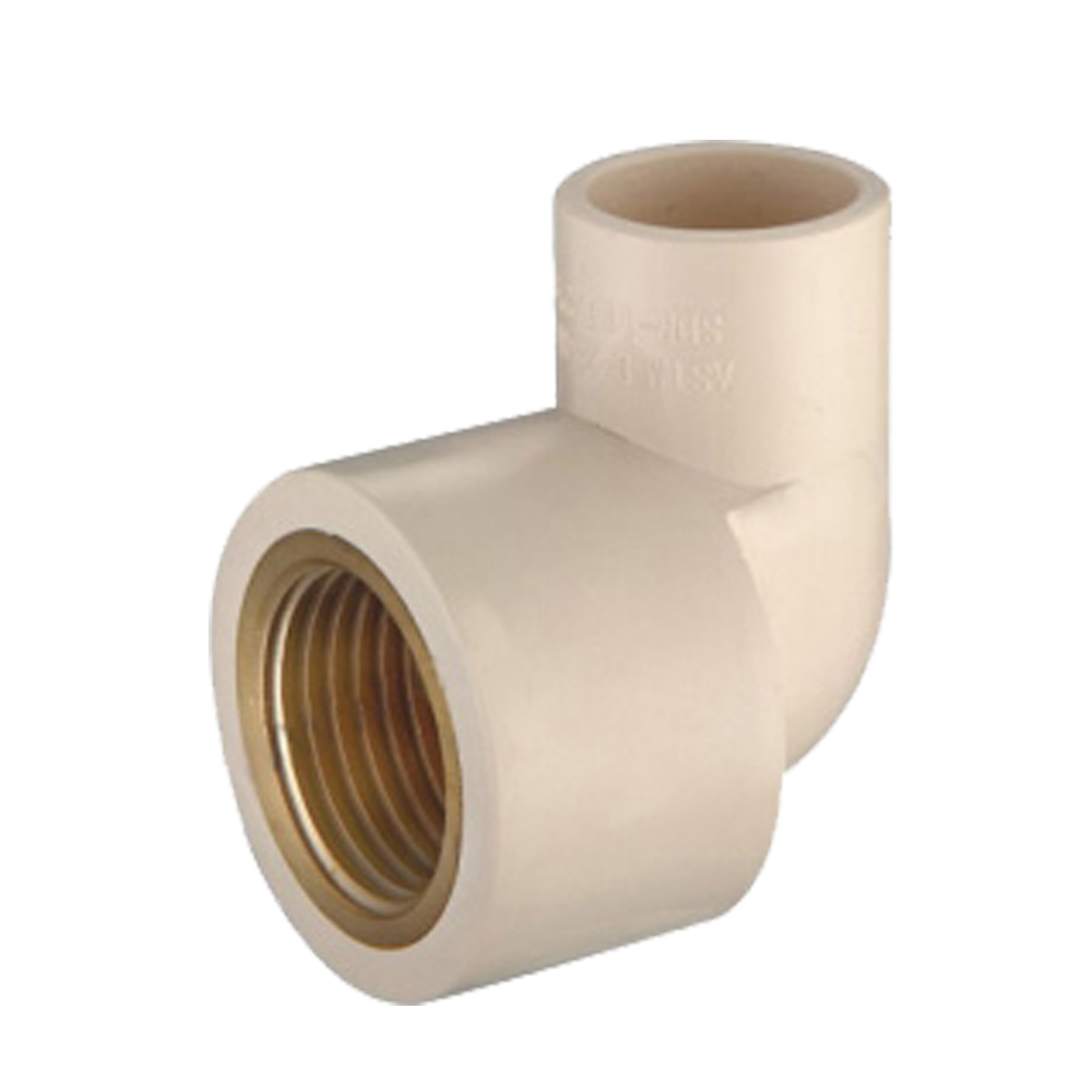 Deg female elbow copper thread cpvc astm d pipe