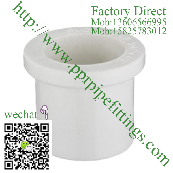 ASTM SCH 40 PVC fittings REDUCING BUSHING