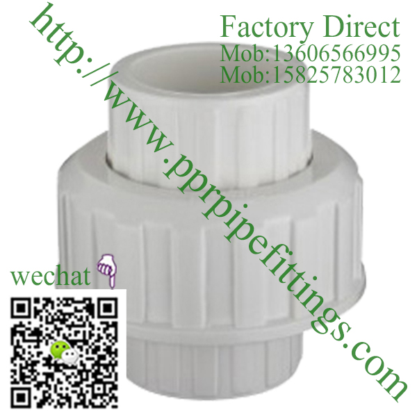 ASTM SCH 40 PVC fittings UNION