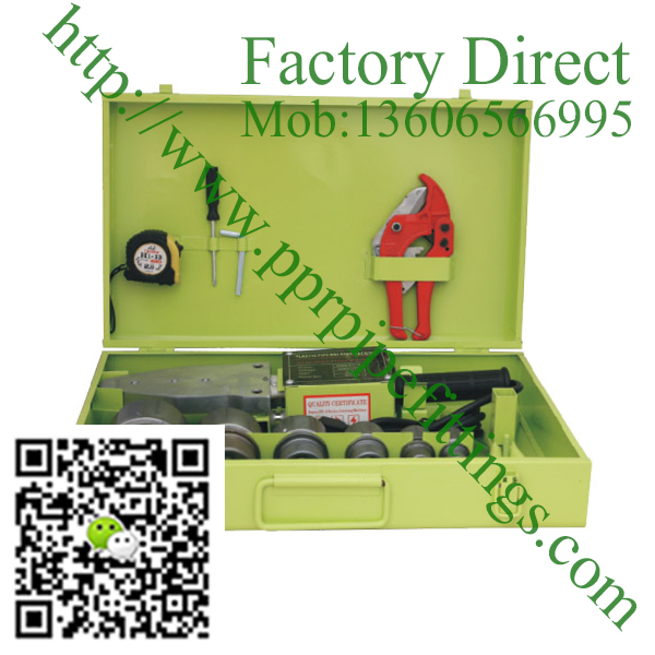 C&N AQUATHERM 20-63AT(apple green) ppr welding machine