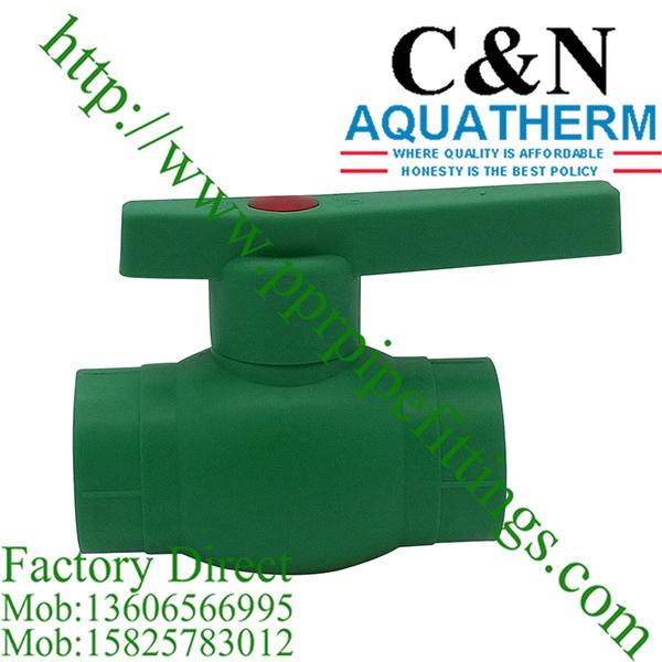China ppr ball valves supplier