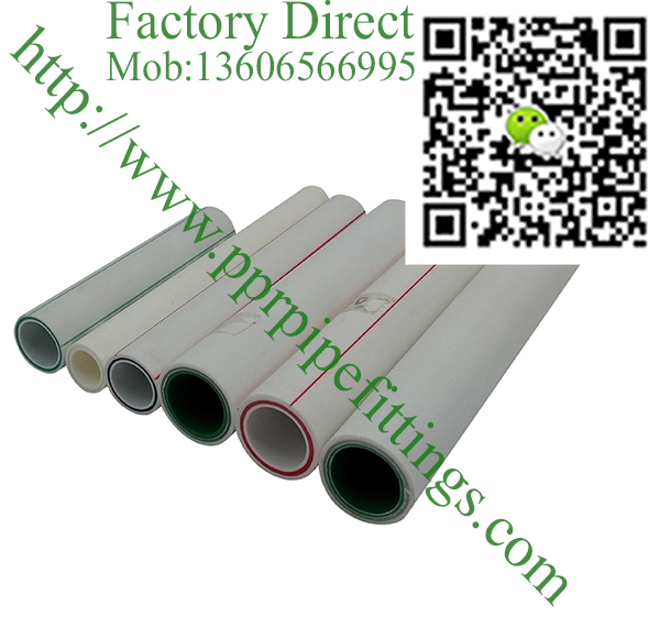 FR-PPR fiber reinforce composite ppr pipes