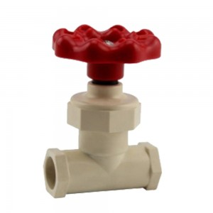 GATE VALVE CPVC ASTM D2846 pipe fittings