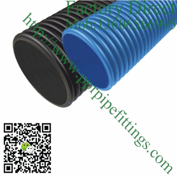 HDPE Corrugated Cable Protection Pipes
