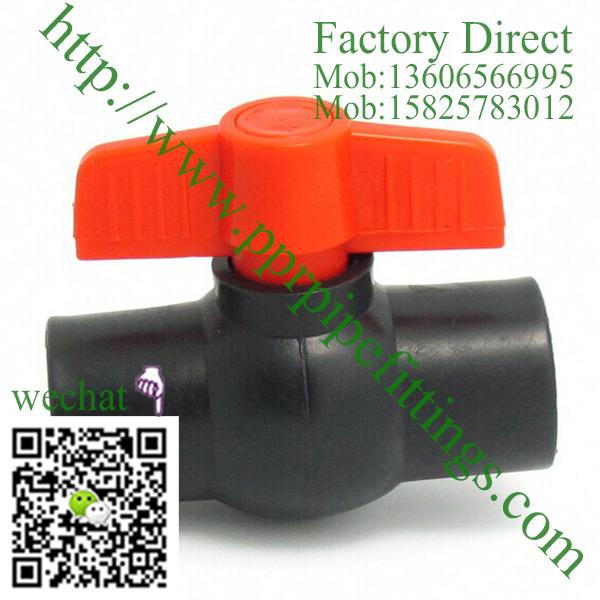 HDPE plastic ball valve