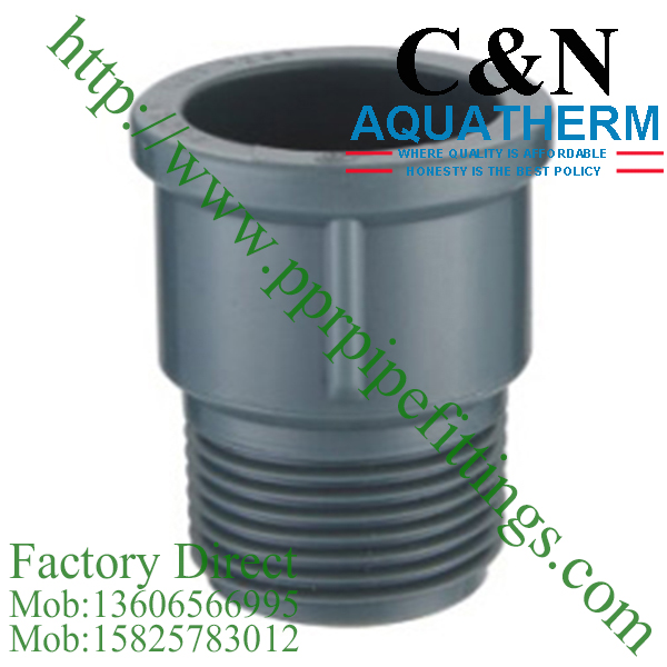 NBR5648 PVC Pipe Fittings male coupling