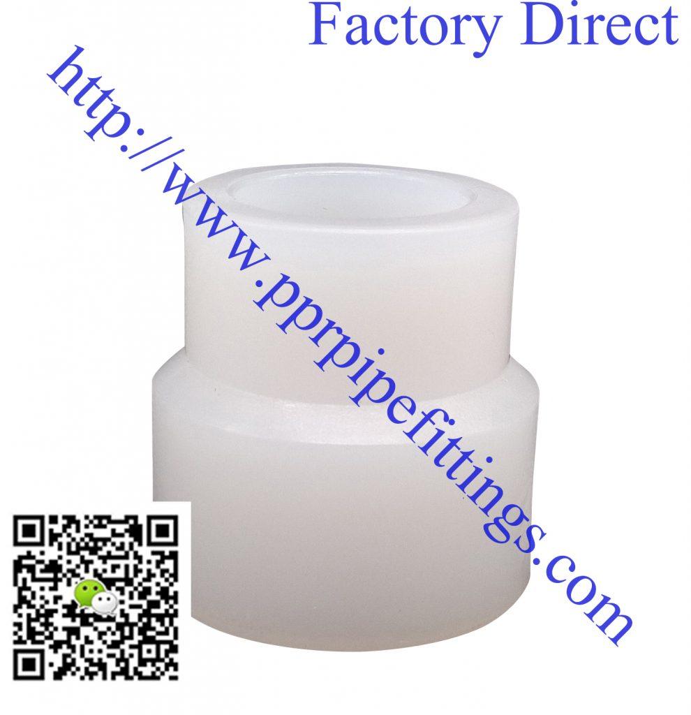 PERT pipe fittings reducing socket