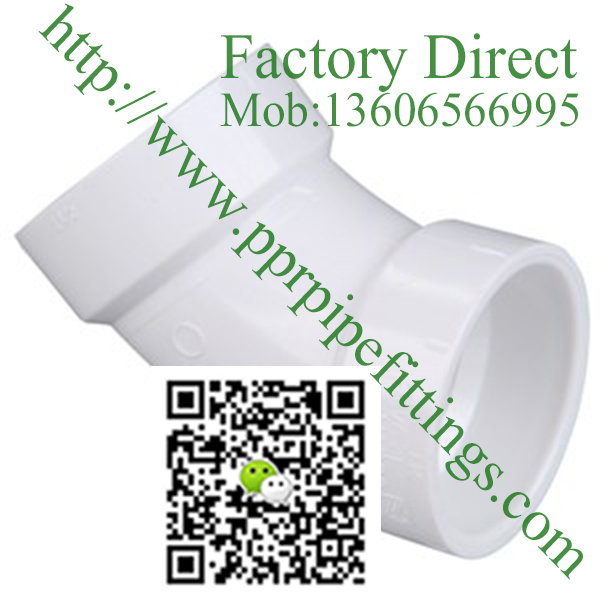 PVC DWV 45° Elbows