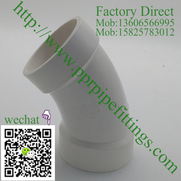 PVC DWV Fittings 45° Elbow