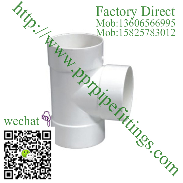 PVC DWV Fittings Test Tee