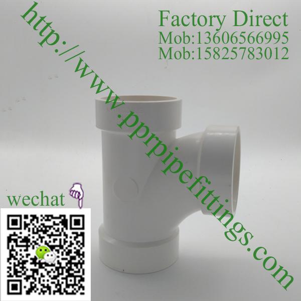 PVC DWV Sanitary Tee
