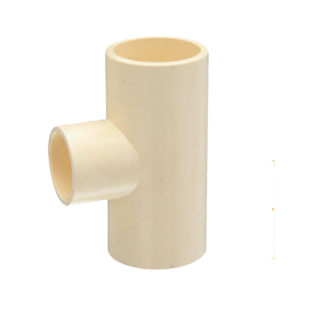 Reducing tee cpvc astm d pipe fittings