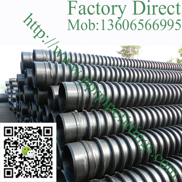 Type B HDPE Winding Structure-Wall Pipe