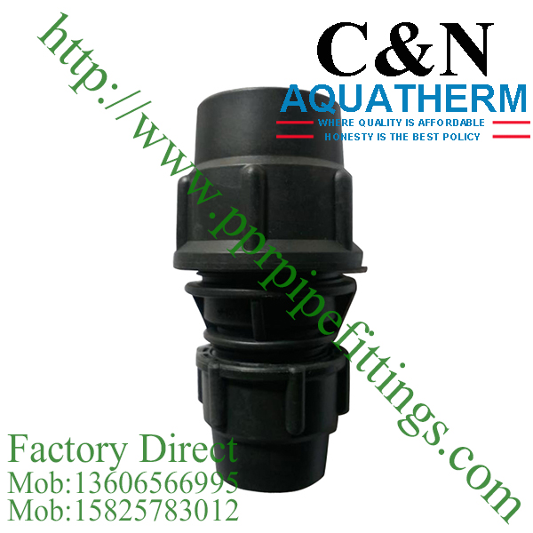 hdpe compression fittings reducing coupling