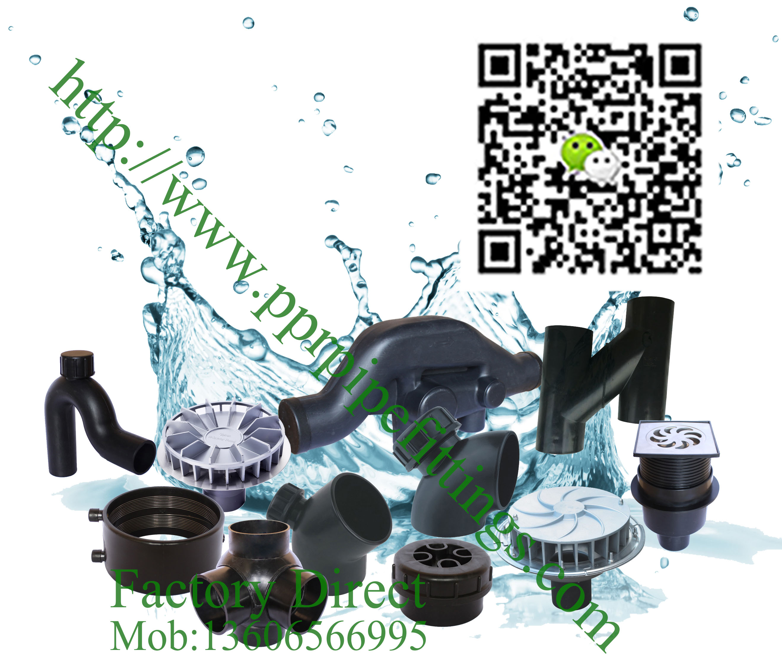 hdpe drainage fittings