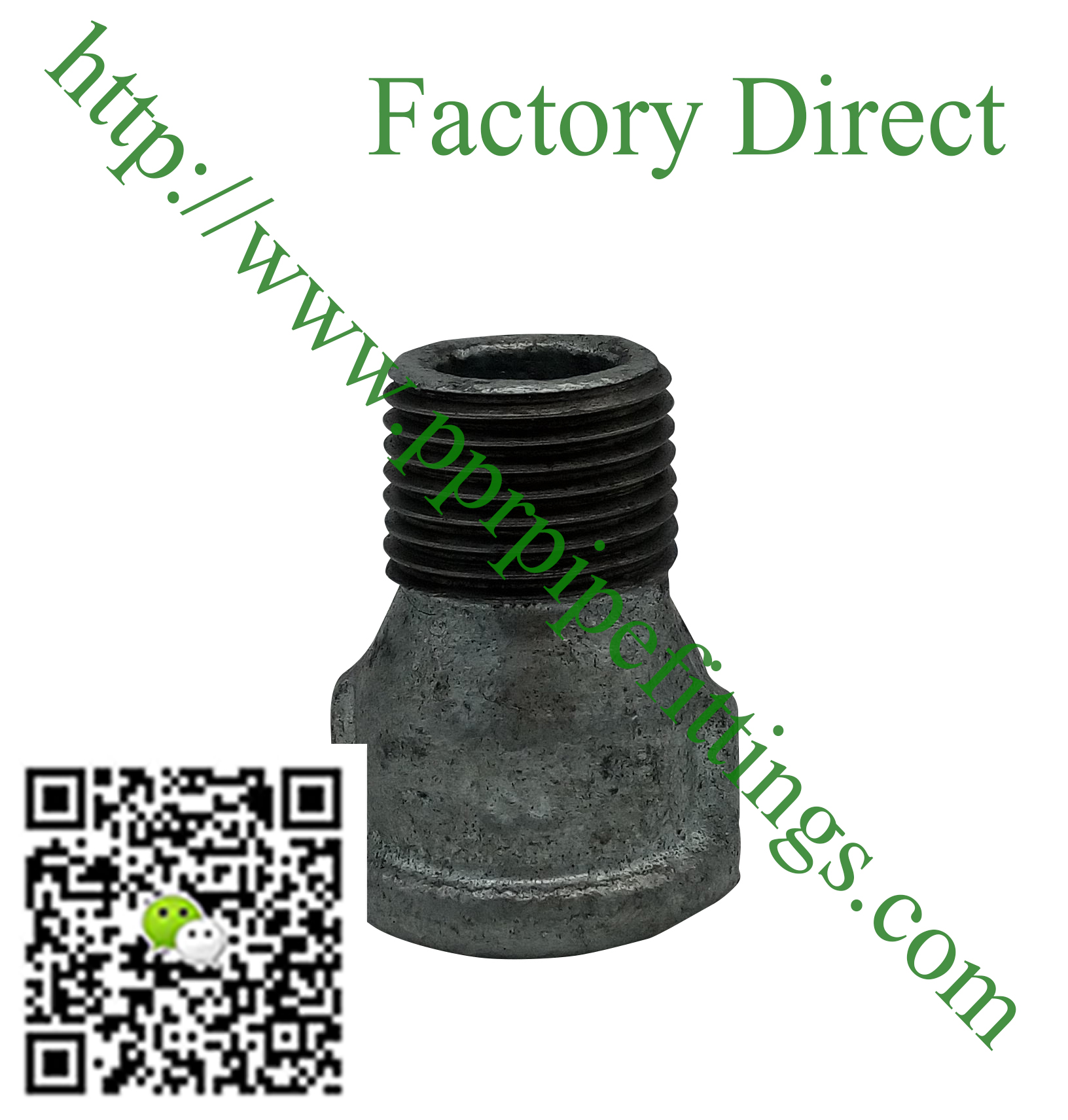 hot dipped beaded cast iron fittings,male socket