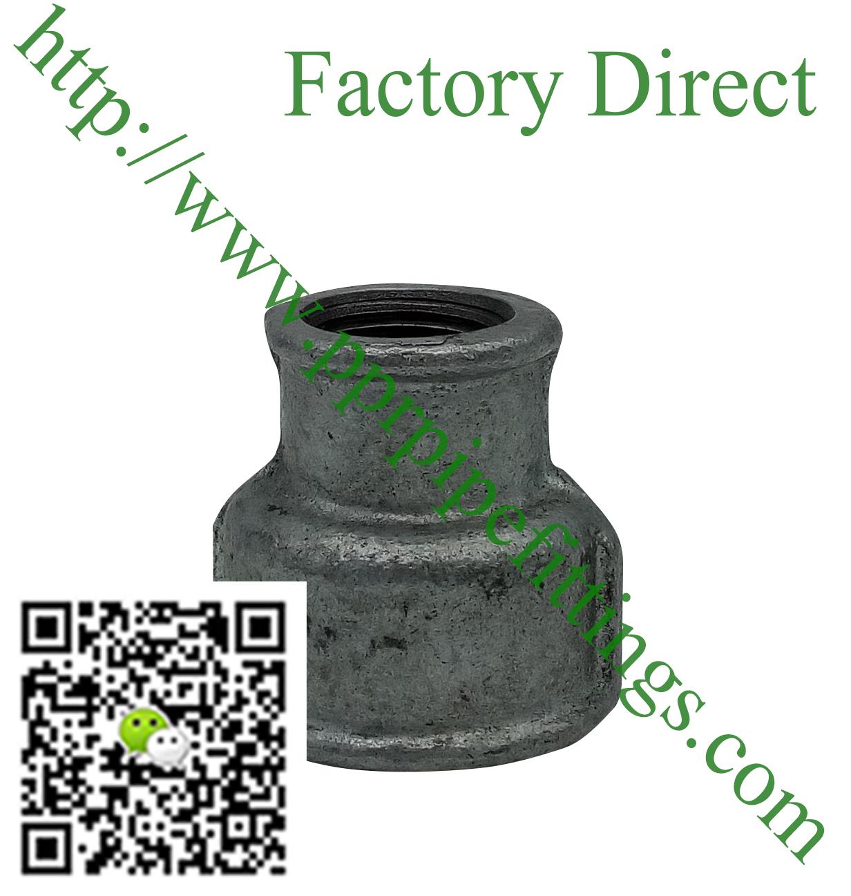 hot dipped beaded cast iron fittings reducing socket
