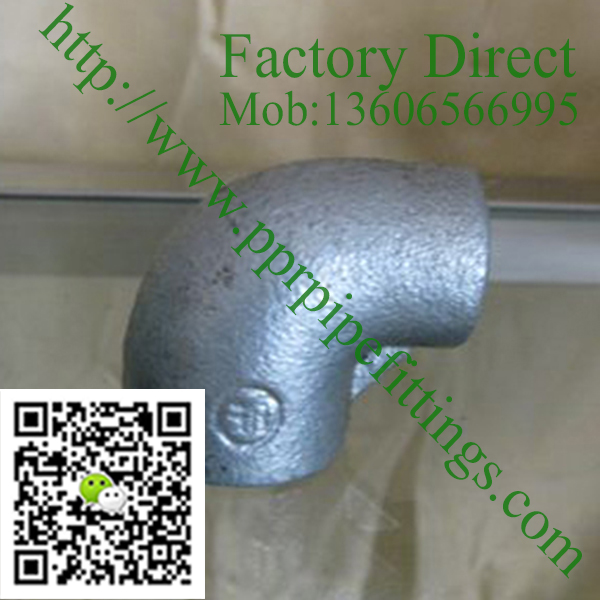 hot dipped galvanized plain reducing elbow