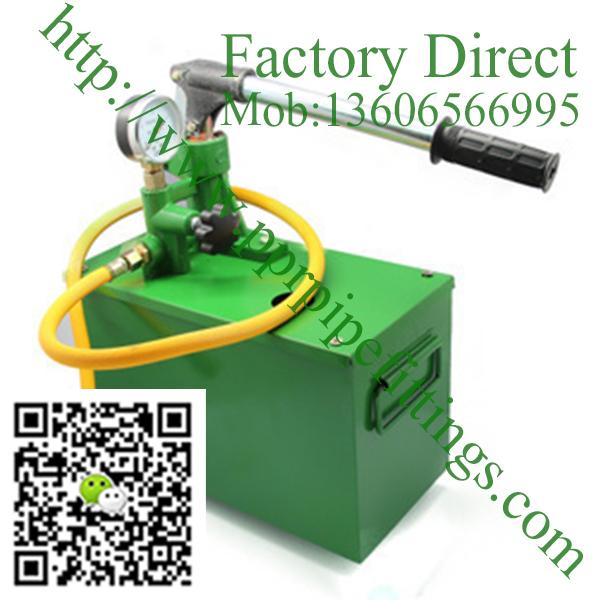 manual pressure test pump hydraulic pump 4mpa 40kg Water pressure Hot sale in China testing