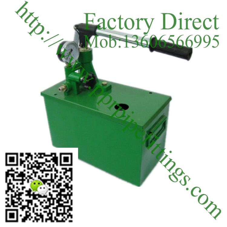 manual pressure test pump hydraulic pump 6mpa 60kg Water pressure Hot sale in China testing