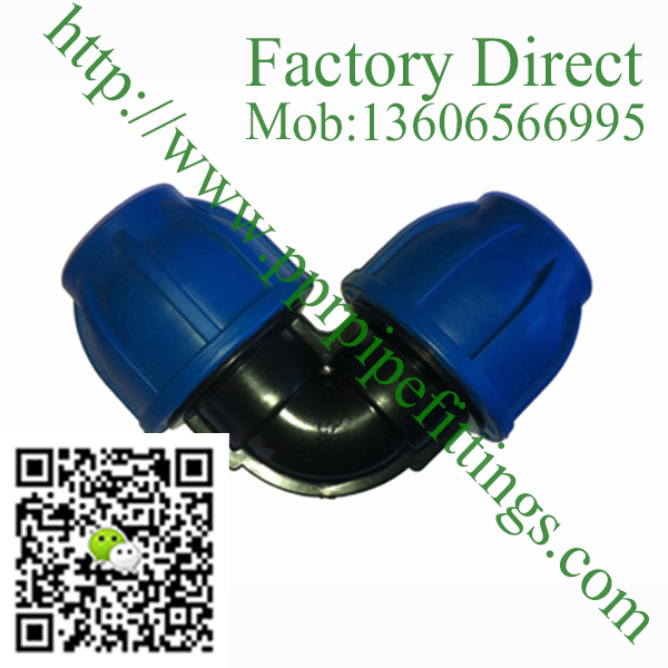 pp compression fittings equal elbow