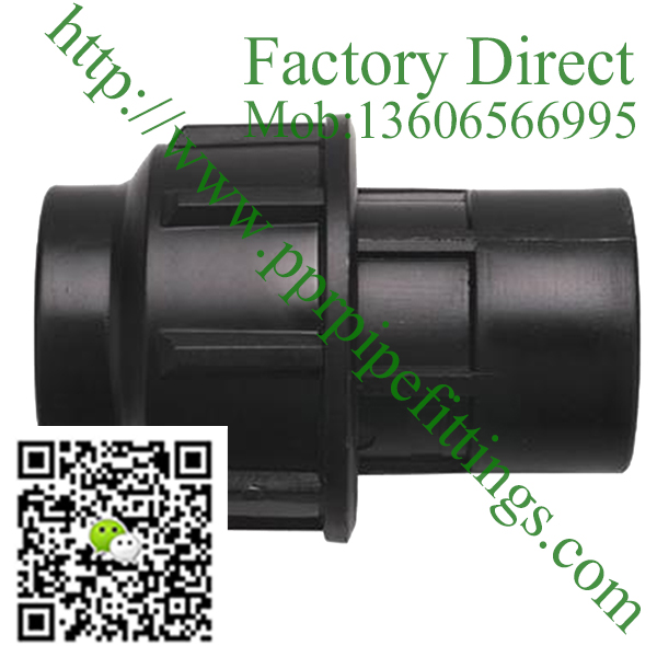 pp compression fittings female coupling