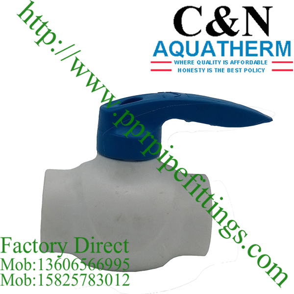 ppr ball valves factory
