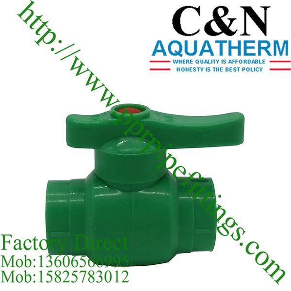 ppr green ball valves