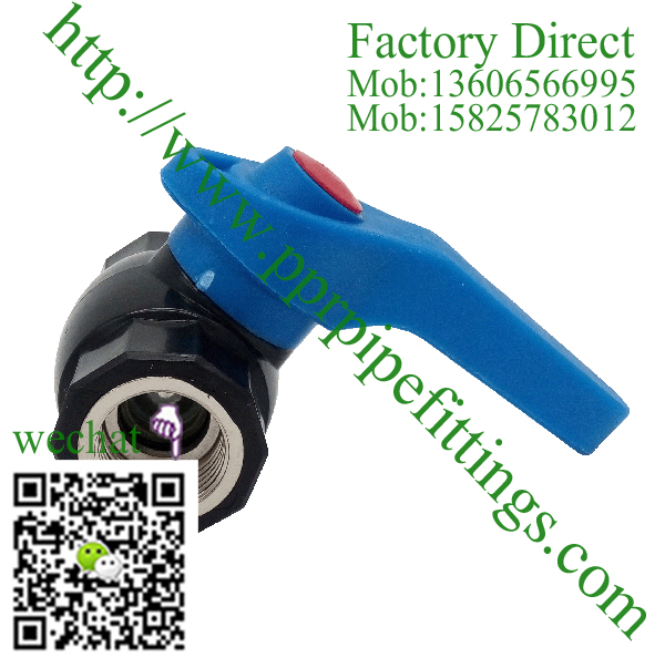 ppr steel ball valve