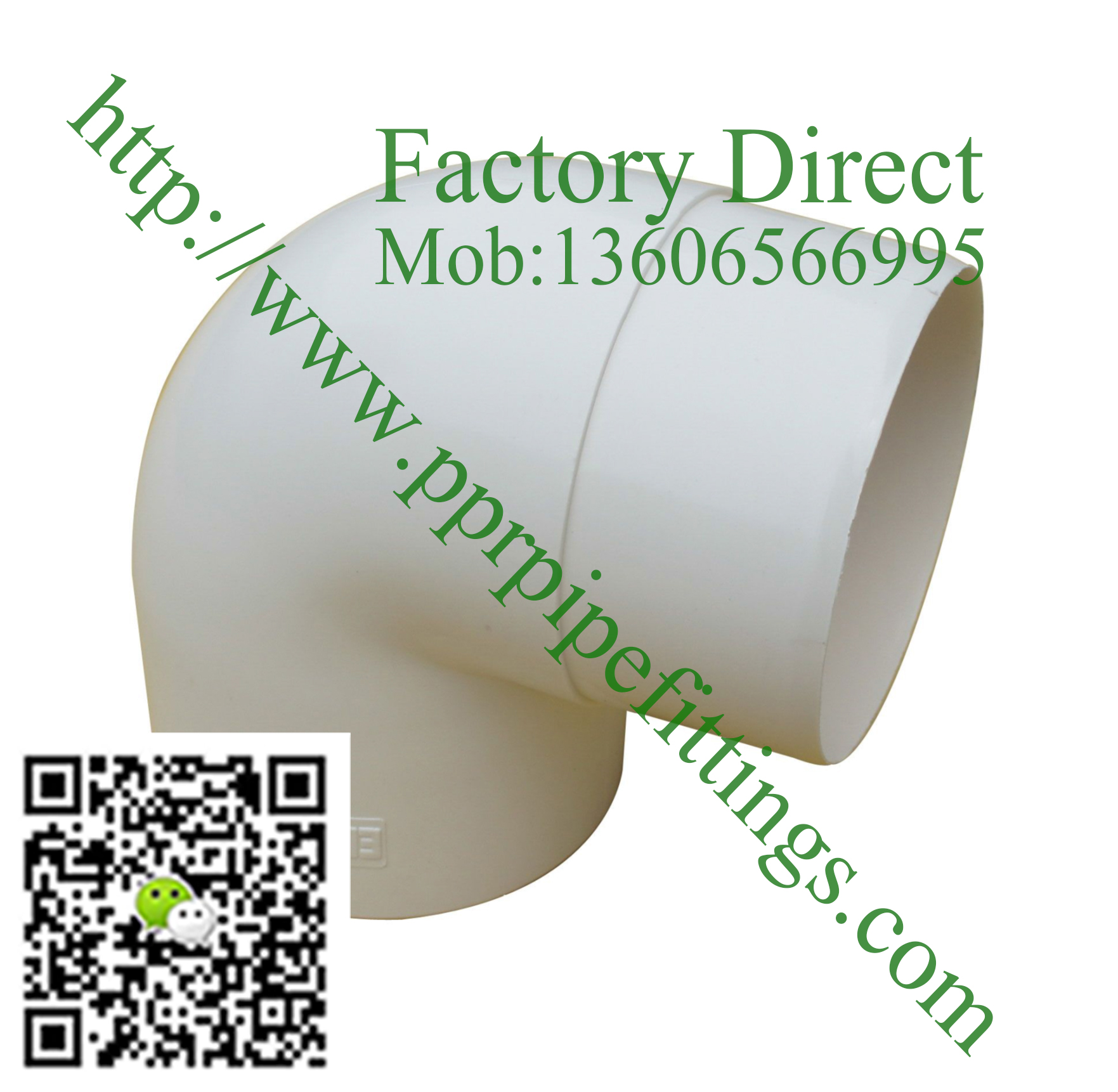 pvc rainwater gutter system  elbow 90º ф88×88