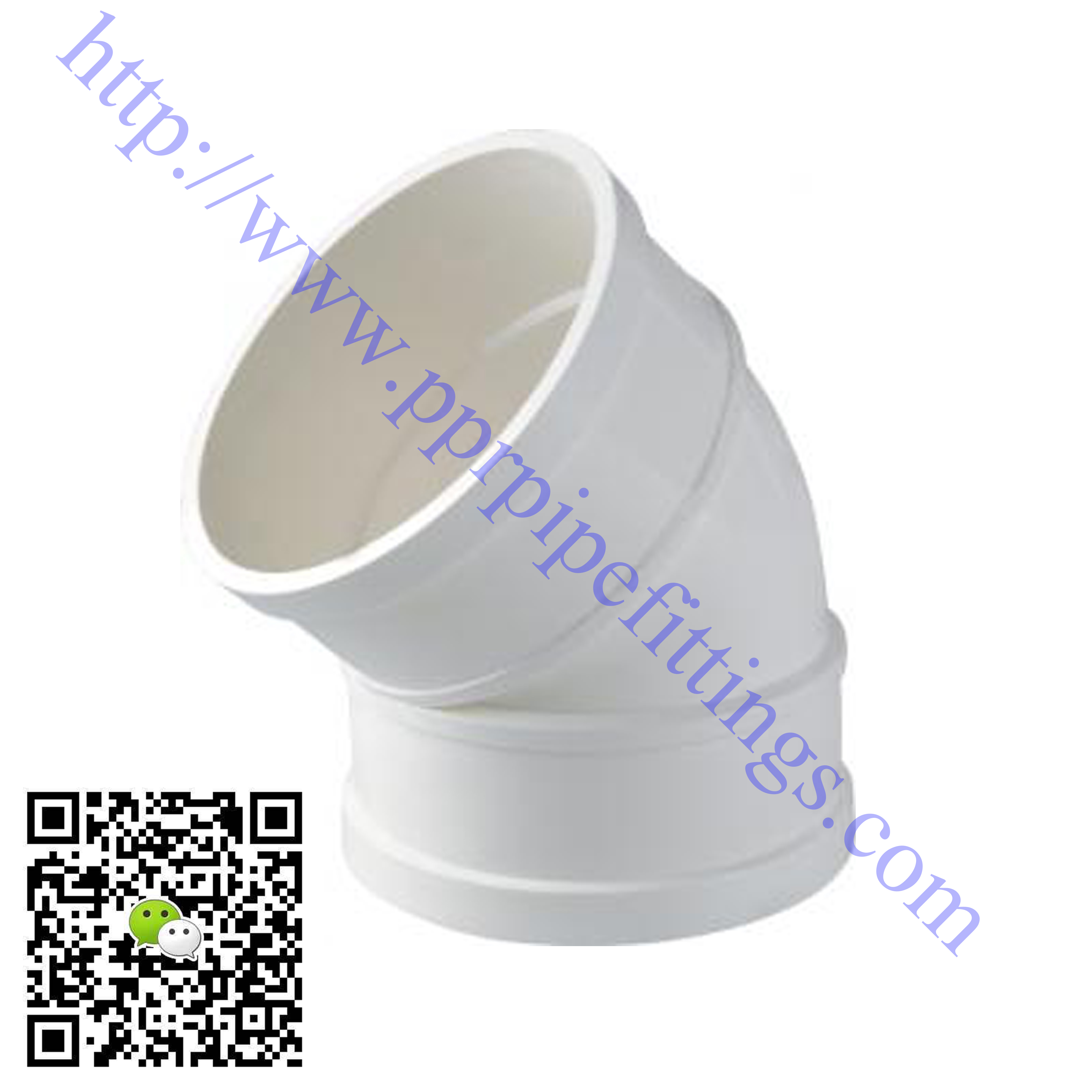 pvc-u pipe fittings 45 deg elbow