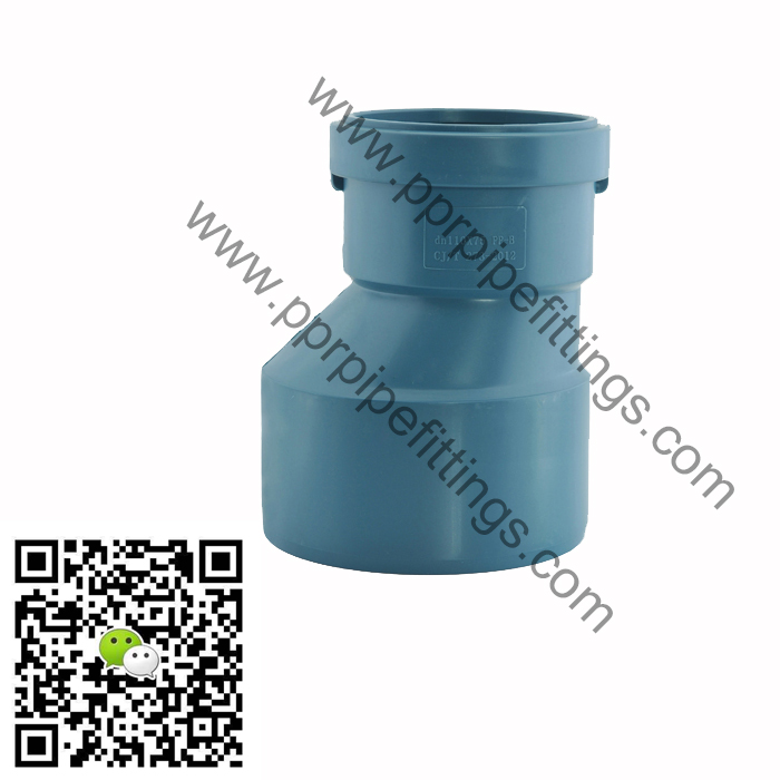 reducing coupling pp sound-proof pipe fittings