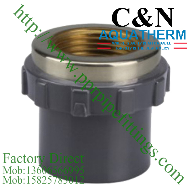 sch 80 pvc fittings female socket copper thread
